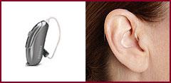 Mini-BTE or open-ear hearing aids